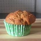 Whole wheat orange muffin