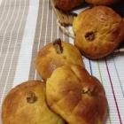 Pumpkin Dinner Rolls with Cinnamon Butter #BreadBakers