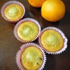Whole wheat orange muffins