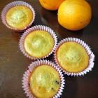 Whole wheat orange muffins