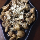 Baked Mushroom Parmesan