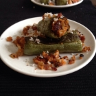 Stuffed Spicy Snake Gourd