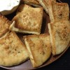 Crispy Garlic Pita Toasts