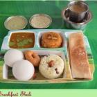 Tamil Breakfast Thali
