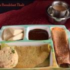 Andhra Breakfast Thali