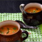 Moroccan Roasted Carrot Soup