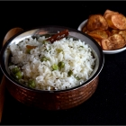 Dun Thel Bath | Ghee Rice with Green Peas