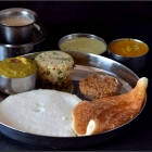 Karnataka Breakfast Thali | Thatte Idli Recipe