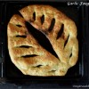Garlic Fougasse