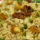 Xacuti Garlic Rice