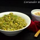 Coriander & Corn Rice