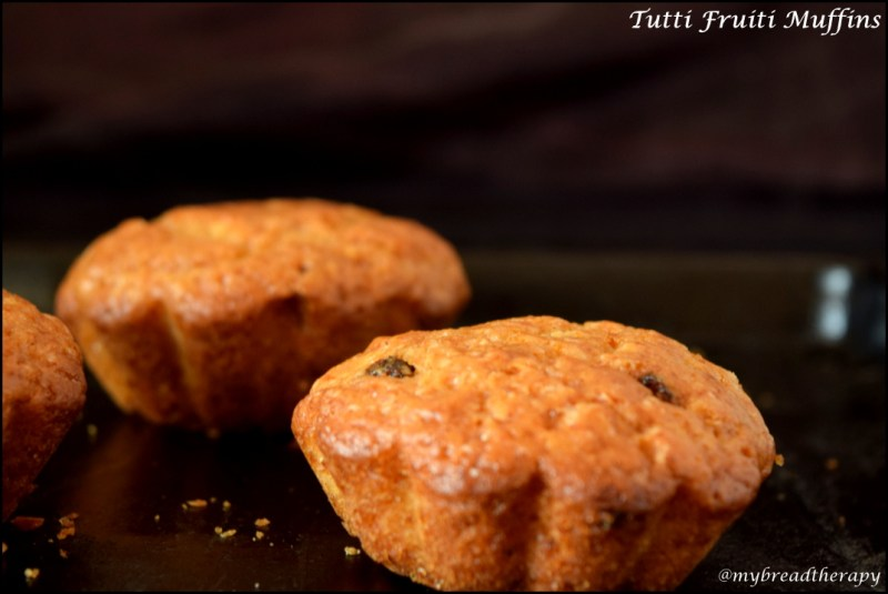 Tutti fruti muffins